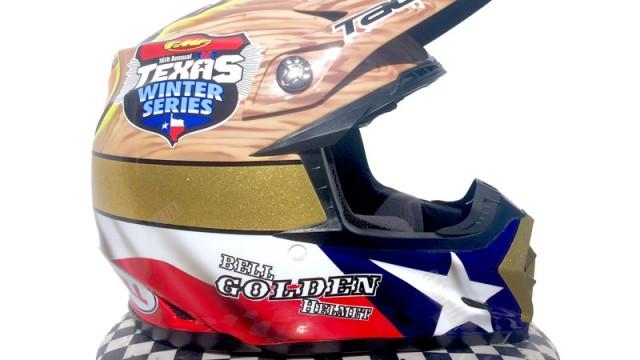 Bell Golden Helmet 2016-1